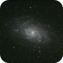 M33 with IDAS P2 filter,                                Robin Clark - EAA imager