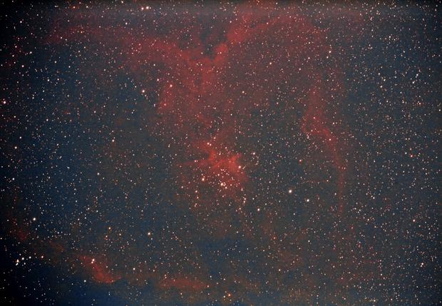 IC1805 - Heart Nebula from White Zone,                                Dave
