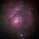 Lagoon Nebula,                                Colin