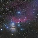 Horsehead- and Flame Nebula,                                Chris Schaad
