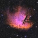 NGC 281 - Pacman in HSO (reprocessed),                                Jonas Illner