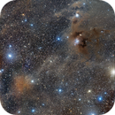 Mosaic out of 6 images - Molecular Clouds in the Central part of Constellation Chameleon.,                                oldwexi