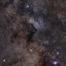 Saturn & Messier Treasures around Sagittarius Star Cloud,                                Christophe Perroud