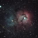 M20, The Trifid Nebula,                                jdhartgerink