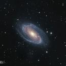 M81 - Bode's Galaxy in HaRGB,                                David Schlaudt