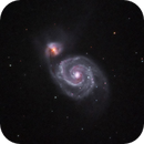M51 in (HαR)GB,                                Uwe Deutermann