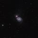 M51 in (HαR)GB,                                Uwe Deutermann