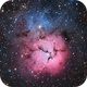 M20. Trifid Nebula.,                                Vlad Onoprienko