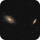 M81 and M82,                                Glenn Diekmann