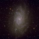 M-33 (NGC-598) Face-on type Sc galaxy in Triangulum,                                Stargazer66207