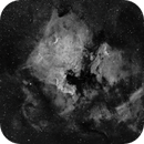 One Hour on North America Nebula from Joshua Tree,                                stobiewankenobi