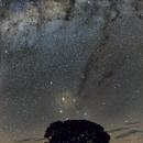 Milky Way and the Earth (Fixed Tripod),                                Kiko Fairbairn