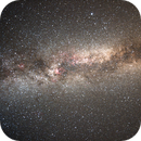 The summer triangle and the Milky Way,                                MarcoLuz