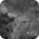 Dark structure in IC 1805,                                Alan Hancox