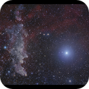 The Witchhead Nebula and Rigel from Lizard Island,                                Göran Nilsson