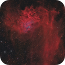 IC405 - The Flaming Star Nebula (HaLRGB),                                Frank Breslawski