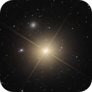NGC 404 Mirach's Ghost: Peeking out from behind the star glare,                                lowenthalm