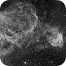 NGC 3324 Gabriela Mistral Nebula and NGC 3293 Cluster,                                LucasB