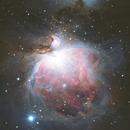Orion Nebula through Bortle 2 skies at the Grand Canyon,                                Andrew Arai