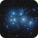 M45 - First light TS 72mm FPL53 Dublet Apo,                                Gendra