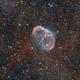 NGC 6888 HOO_RGB - Crescent Nebula in Cygnus,                                Daniel.P