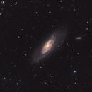 M106 Galaxy in Canes Venatici,                                Stellario