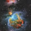 M42, in Hubble palette colors,                                Toshiya Arai