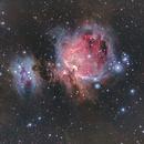 Great Orion Nebula - Messier 42 - M42,                                lucian_nicu