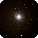 m13 the great Hercules cluster,                                palaback