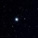 M13 with 1st quarter moon,                                pterodattilo