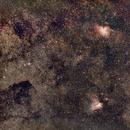 Messier 16 + 17,                                AC1000