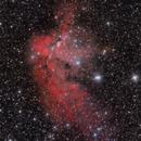 NGC 7380  WIZARD NEBULA,                                Andrés Ruiz de Va...