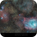 Messier 8 and IC 4685 in Sagittarius,                                Paul Baker