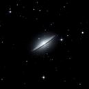 M104 - the sombrero galaxy,                                Steffen