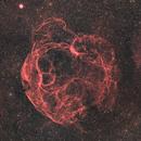 SH2-240, Simeis 147 - Spaghetti Nebula Ha-RGB,                                Jonas Illner