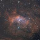 "NGC7635 ""Bubble Nebulae"" LRGB-SHO (C8/AtikOne6),                                Jean-Baptiste Auroux"