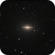 The Magnificant Sombrero Galaxy,                                Paul Baker