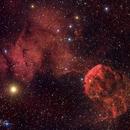 IC 443 Jellyfish Nebula,                                Matt Harbison