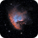 NGC 281 Pacman Nebula in NB,                                Richard Pattie
