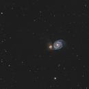 Whirlpool Galaxy, Close Crop,                                  doug0013
