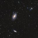Bodes Galaxy region,                                Bruce