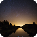 Orion over the canal of Kimola,                                Samuli Ikäheimo
