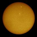 Sun - full disc - 19 June 2018,                                Steve Milne