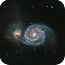 M51 Whirlpool Galaxy,                                Shannon Calvert