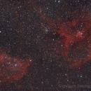 Heart and Soul Nebula,                                Stephen Migol