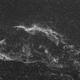 NGC6960 - Nébuleuse du voile en Ha,                                Xaxas