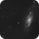 M106 ; Ha layer,                                Romain Chauvet