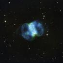 Messier 76: The Little Dumbbell in SHO,                                Bruce Donzanti