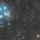 Conjunction between mars and the pleiades,                                Edoardo Paparelli