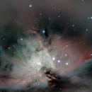 M42 zona trapezio,                                gioveluna